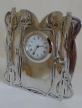 Pat Cheney Pewter Clock